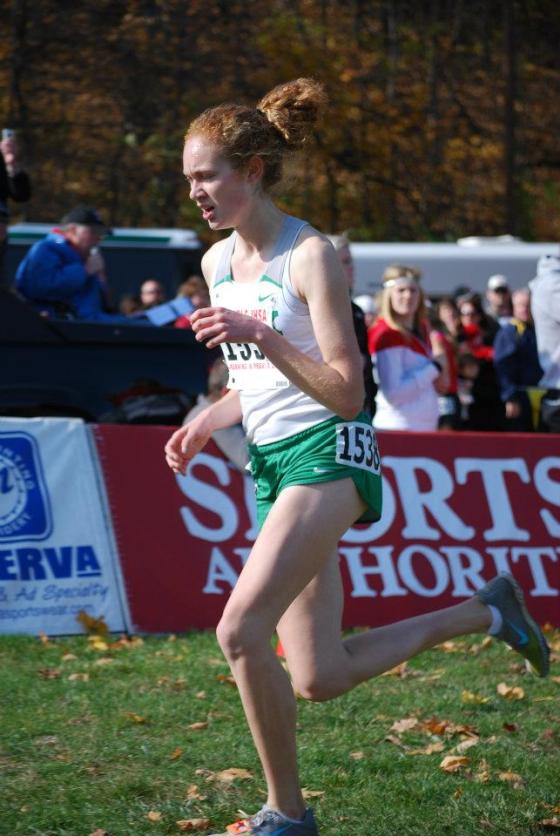 Emma Fisher (York) produces big US#4 effort in 3200 season debut/Fisher photo credit