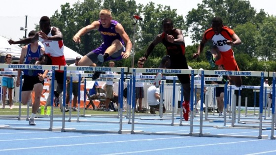 Leo's Marlon Britton returns as 110HH fave/Bob Geiger ESPN HS