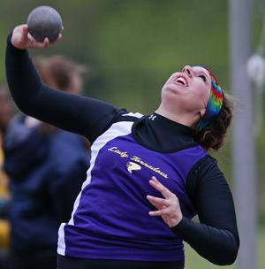Taylorville's Claire Nolan starts season with IL#4 41-2/Jason Johnson photo